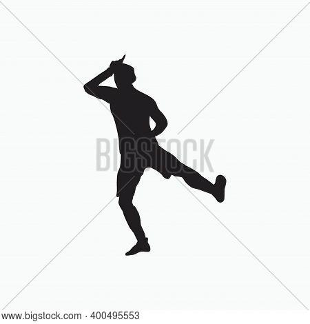Take The L Celebration - Soccer Goal Celebration Silhouette - Shot, Dribble, Celebration And Move In