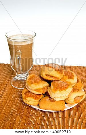 Breakfast Of Pastries And Coffee