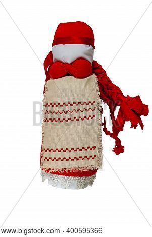 Textile Doll Traditional Russian. Sewing Crafts. Home Creativity. Home Amulet And Children's Toy. Is