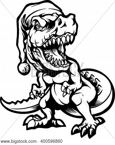 Silhouette T Rex  Clipart  For Your Work Logo Merchandise T-shirt, Stickers And Label, Poster, Greet