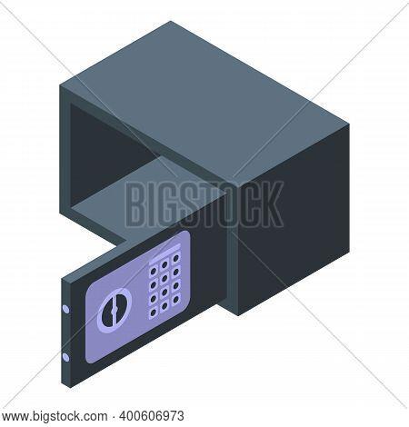 Monetization Money Safe Icon. Isometric Of Monetization Money Safe Vector Icon For Web Design Isolat