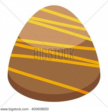 Tasty Chocolate Icon. Isometric Of Tasty Chocolate Vector Icon For Web Design Isolated On White Back