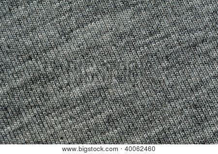 Grey woven fabric - Macro - Background