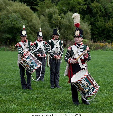 Battle drummers