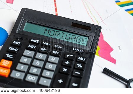 The Concept Of Calculating The Cost Of A Mortgage For Home Purchase.