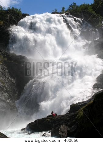 A Woman Who, According To Legend, Commited Suicide In Despair By Jumping Into A Waterfall - Waterfal