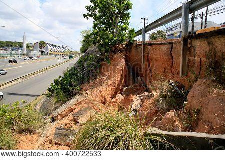 Land Delimitation Area On Public Roads