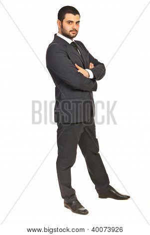Serious Business Man