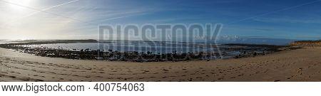 Panorama View Of The Praia Do Farol