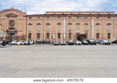 Museum Palace From Square Largo Porta Sant'agostino