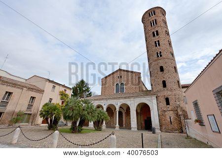Basilica Of Sant Apollinare Nuovo In Ravenna