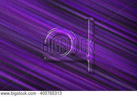 Symbol Of Jupiter, Jupiter Sign, Astrology Jupiter Planet, Violet Background