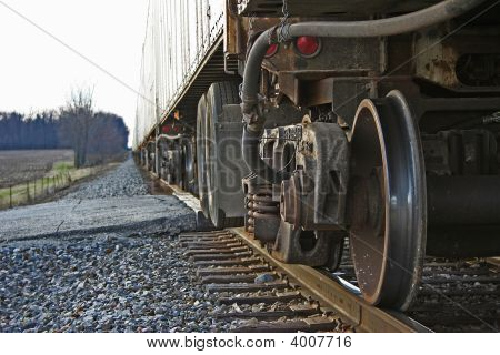Stopped Train