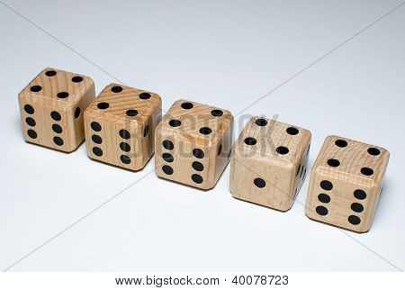 nearly equal dice