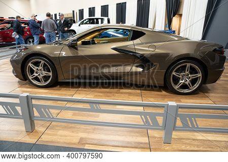 Toledo, Ohio - Usa - February 7 -2020:greater Toldeo Auto Show At The Seagate Convention Center