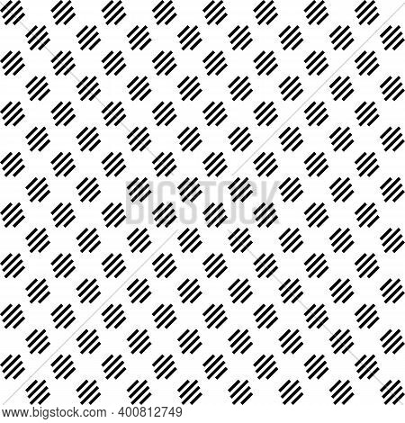 Seamless Pattern. Linear Ornament. Angled Stripes Motif. Striped Backdrop. Diagonal Lines Background