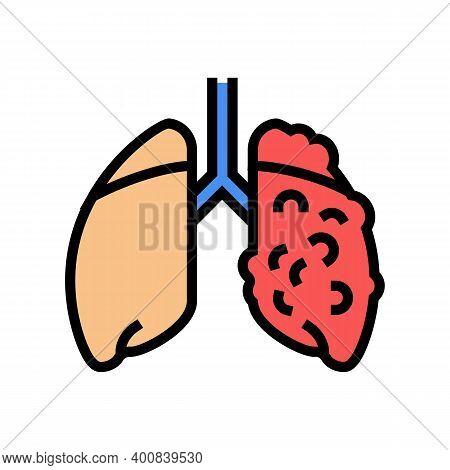 Ards Respiratory Disease Color Icon Vector. Ards Respiratory Disease Sign. Isolated Symbol Illustrat