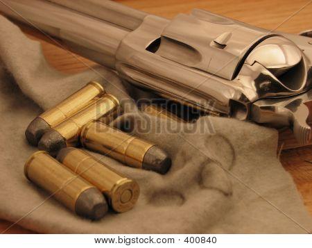Cowboy Gun And Ammo