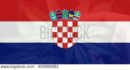 Cannabis Legalization In The Croatia. Weed Decriminalization In Croatia. Medical Cannabis In The Cro