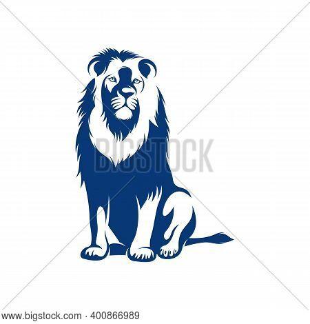 Lion Design Vector Illustration, Creative Lion Logo Design Concepts Template, Icon Symbol