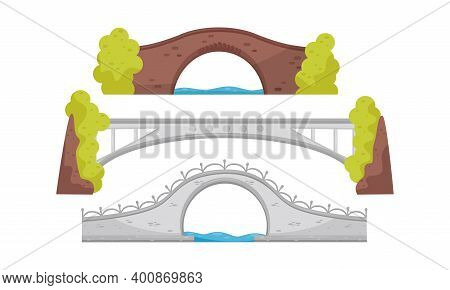 Stone Bridge As Structure For Spanning Physical Obstacle Vector Set
