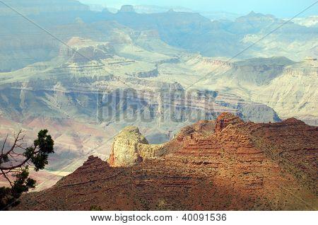 Beautiful sunrise in Grand Canyon, Arizona, USA