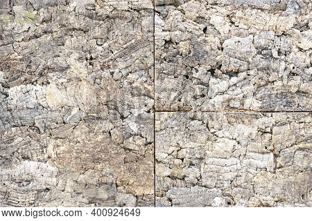Rough Wood Wall Panel. Background And Texture Untreated Wood.