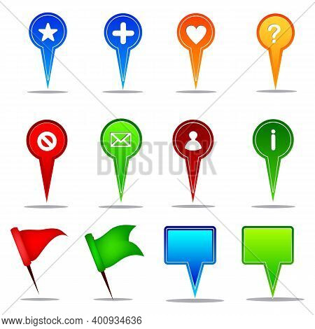 Location Pin Icon. Map Attach Marker Place. Location Icon. Map Pointer Marker Icon Set. Gps Location