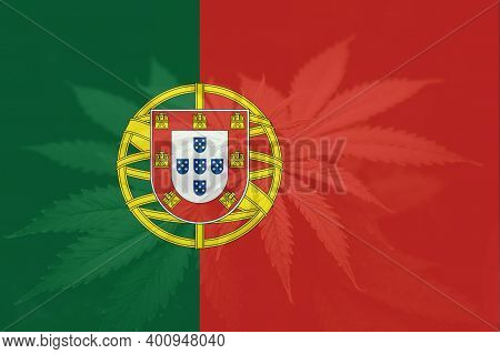 Cannabis Legalization In The Portugal. Weed Decriminalization In Portugal. Medical Cannabis In The P