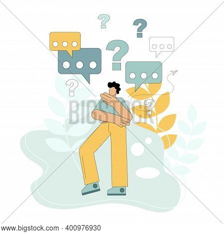 Search For Answers To Questions. Analysis Of The Situation. Doubt. Statement Of A Question. For Web