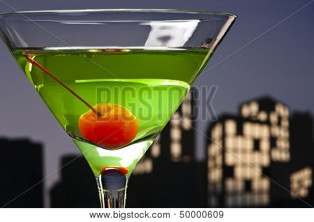 Metropolis Apple Martini