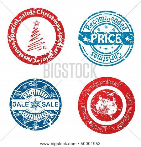 Christmas Sale Stamps