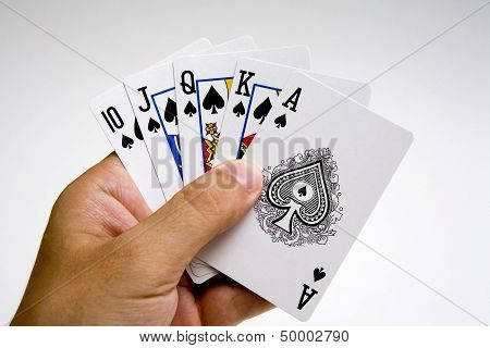 Poker Winning Hand Set