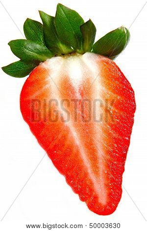 Red Strawberry Close Up