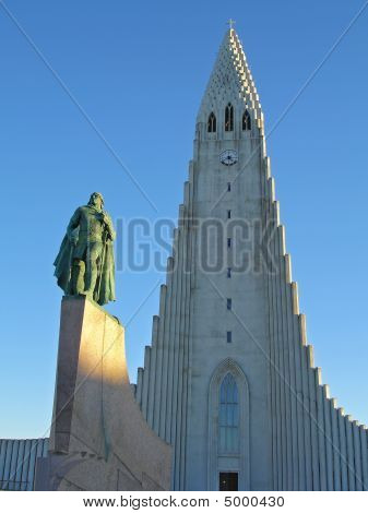 Iceland, Reykjavik, Hallgrimskirkja