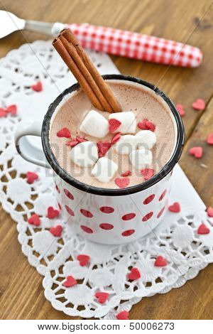 Hot Chocolate With Little Marshmallows