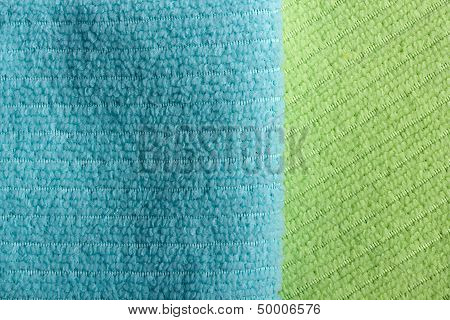 Two Color Terry Towels