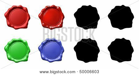 Wax Seal Set - Isolated