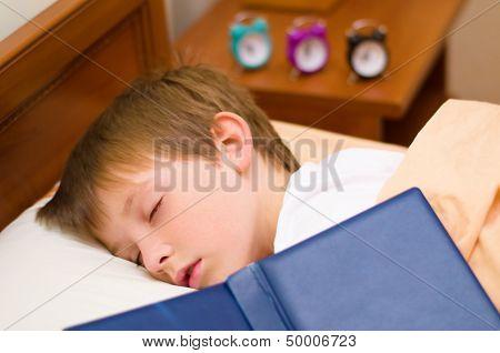 Bedtime For Little Schoolboy