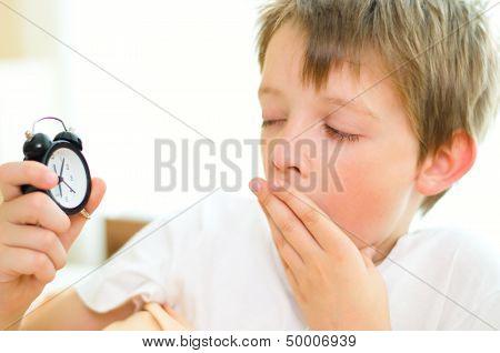 Boy With Clock