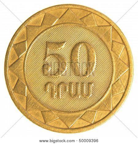 50 Armenian Dollars Coin