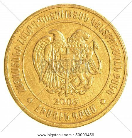 50 Armenian Dollars Coin