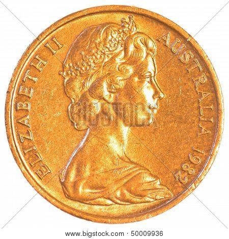 australian dollar cents coin