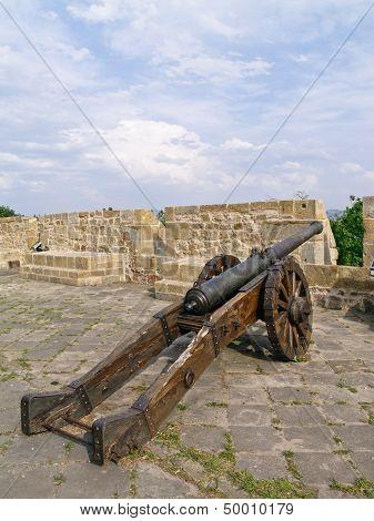 Old Cannon In San Sebastian
