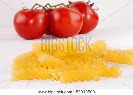 Noodle And Tomato