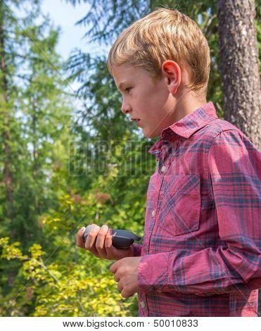 Child Geocaching