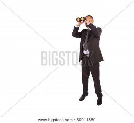 Portrait Of A Young Male Entrepreneur Looking For Business Opportunities