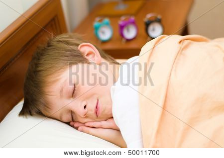 Bedtime For Schoolboy