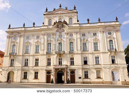 Archbishop's Palace In Prague