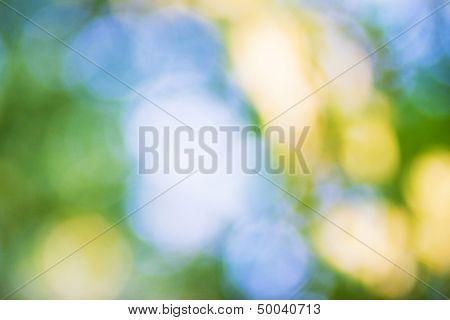 summer bokeh, beautiful bright background